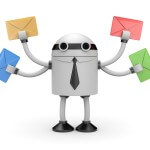 On-board email integration is a key time-saving feature of the VanillaSoft call center software