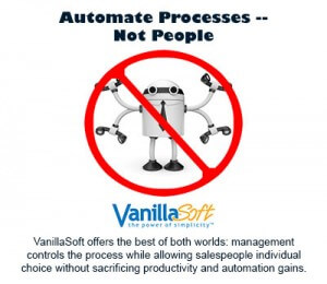 Sales Force Automation Software - VanillaSoft