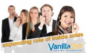 inside sales role