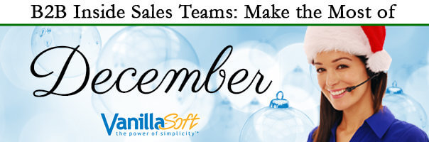 Image for B2B Inside Sales Teams: Make the Most of December