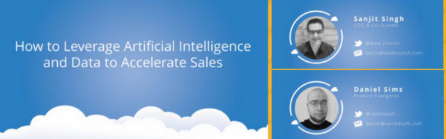 Image for Webinar Recap: Leverage Artificial Intelligence & Data to Accelerate Sales