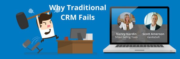 Image for Webinar Recap: Why Traditional CRM Fails Inside Sales Organizations