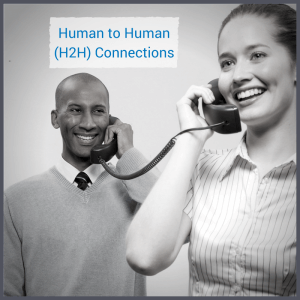 inside sales human to human connections