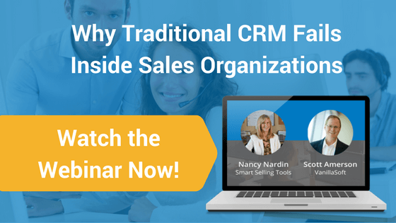 Why Traditional CRM Fails Inside Sales Organizations