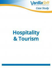 Cover for Hospitality & Tourism Case Study