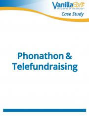 Cover for Phonathon & Telefundraising