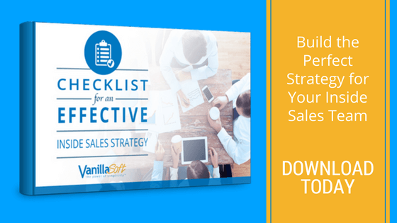 inside sales strategy