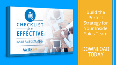 Download the Inside Sales Strategy Checklist