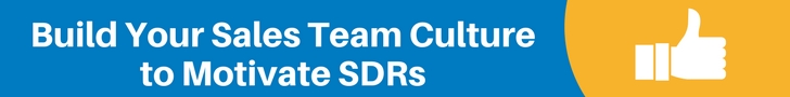 Motivate SDRs