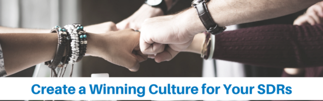 Image for How to Create a Winning Culture for Your Sales Development Reps