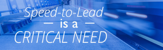 Image for Speed-to-Lead is a Critical Need