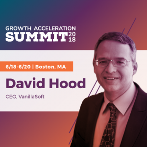 David Hood speaking at zoominfo Growth Acceleration Summit