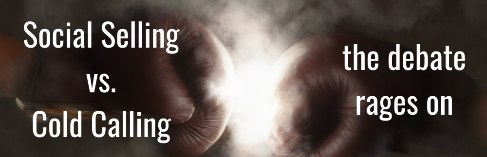 Image for Social Selling Vs. Cold Calling — the Debate Rages On