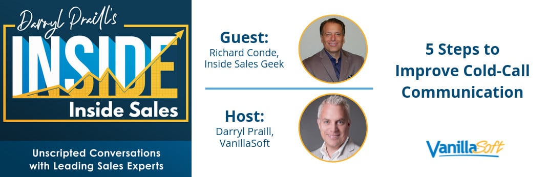 Image for INSIDE Inside Sales – Ep 46: 5 Steps to Improve Cold-Call Communication