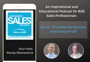 uncommon sales success podcast