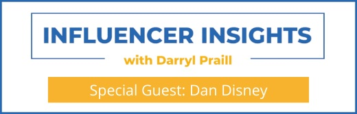 Webinar Influencer Insights with Daniel Disney Cover