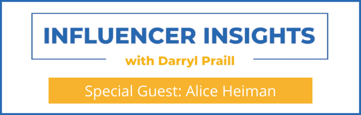 Webinar Influencer Insights with Alice Heiman Cover