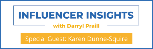 Webinar Influencer Insights with Karen Dunne-Squire Cover