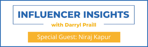 Image for Influencer Insights with Niraj Kapur