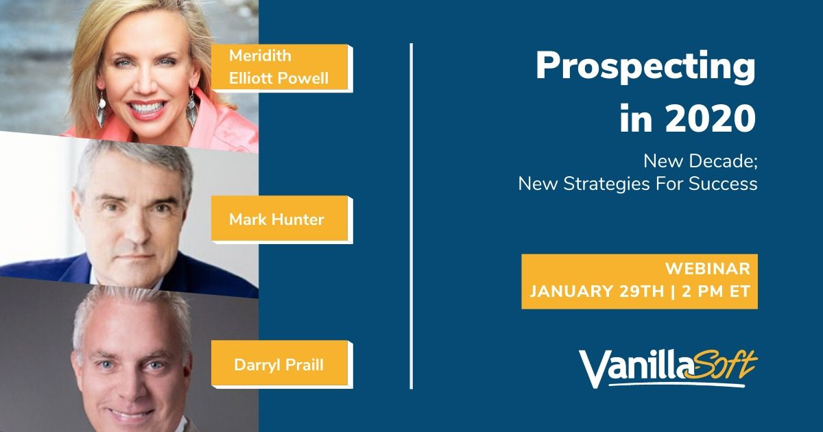 Image for Prospecting in 2020 – New Decade; New Strategies For Success