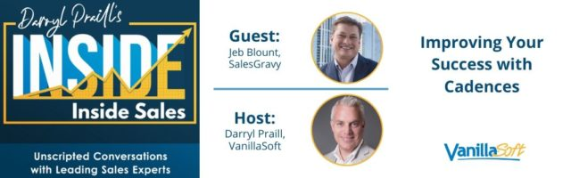 Image for INSIDE Inside Sales – Ep 68: Improving Your Success with Cadences