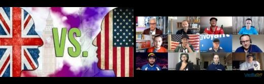 Webinar UK vs. USA: The Transatlantic Sales Throw Down (Part 1 – The Men) Cover