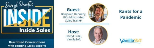 Image for INSIDE Inside Sales – Ep 75: Rants for a Pandemic