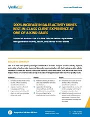 Cover for 200% Increase in Sales Activity Drives Best-in-Class Client Experience