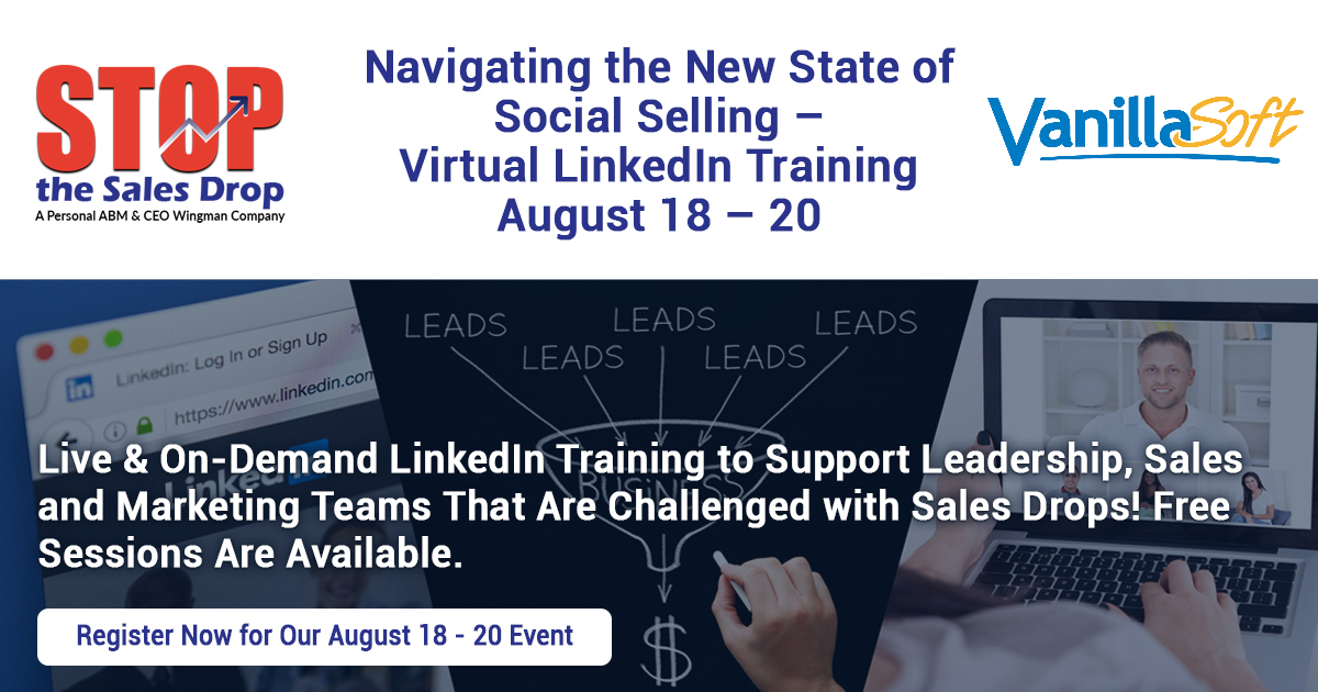 Image for [Virtual Conference]  Navigating the New State of Social Selling