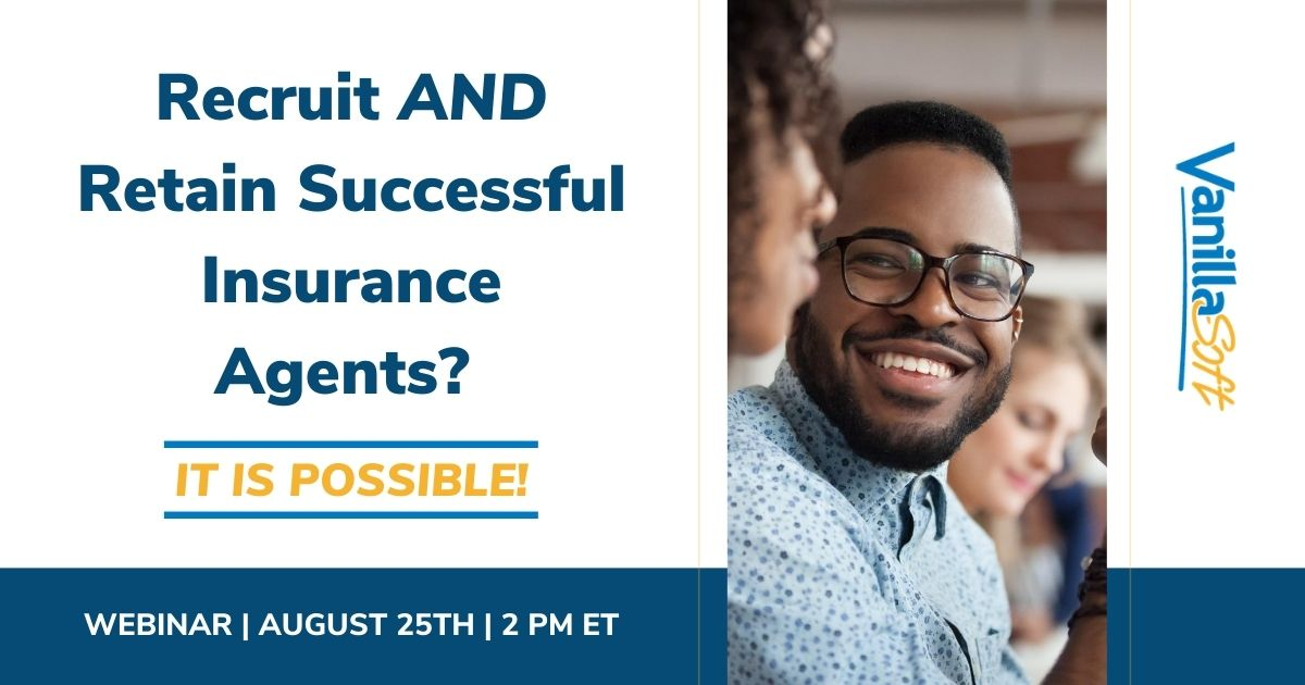 Image for [Webinar] Recruit AND Retain Successful Insurance Agents?
