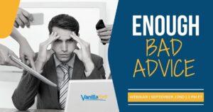 enough bad advice webinar
