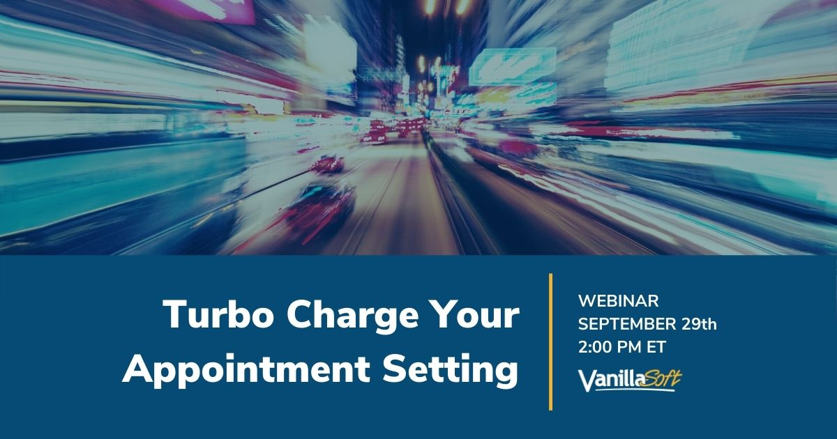 Image for [Webinar] Turbo Charge Your Appointment Setting