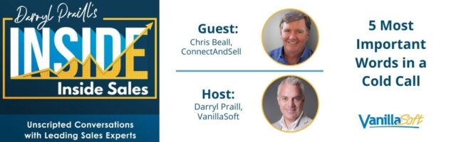 Image for INSIDE Inside Sales – Ep 92: 5 Most Important Words in a Cold Call
