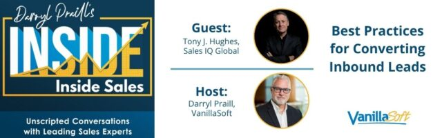 Image for INSIDE Inside Sales – Ep 98: Best Practices for Converting Inbound Leads