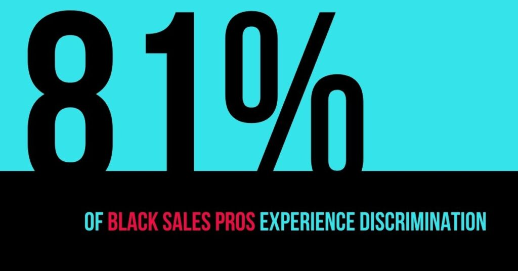 black sales professionals experience discrimination