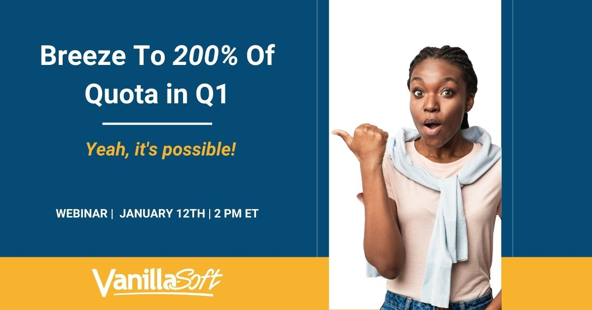 Image for [Webinar] Breeze To 200% Of Quota in Q1