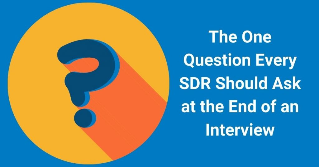 SDR interview
