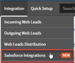 vanillasoft salesforce integration