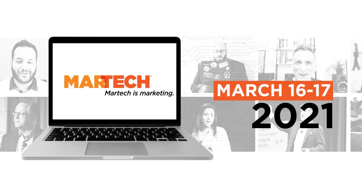 Image for [VIRTUAL CONFERENCE] MarTech Virtual Conference