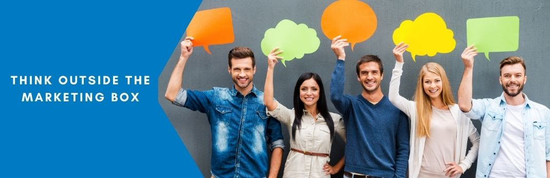 Image for Think Outside the Marketing Box: Communication Skills to Build Sales Relationships