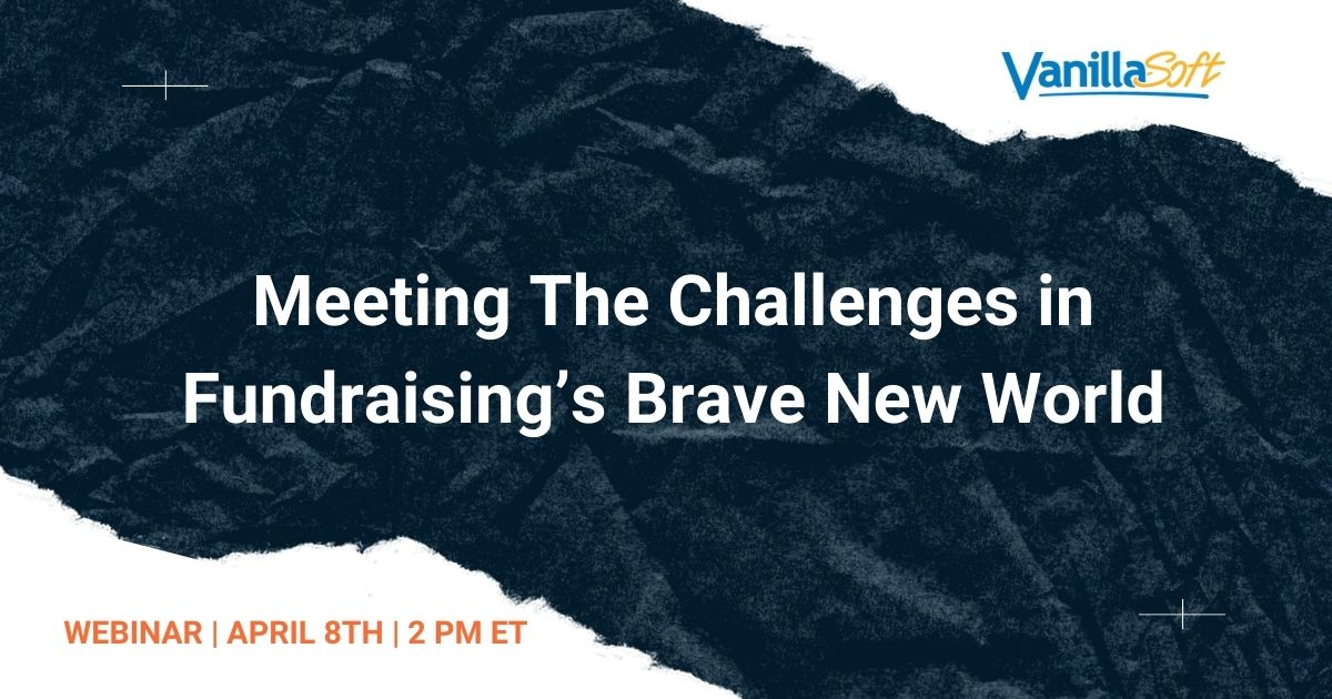 Image for Meeting The Challenges in Fundraising's Brave New World