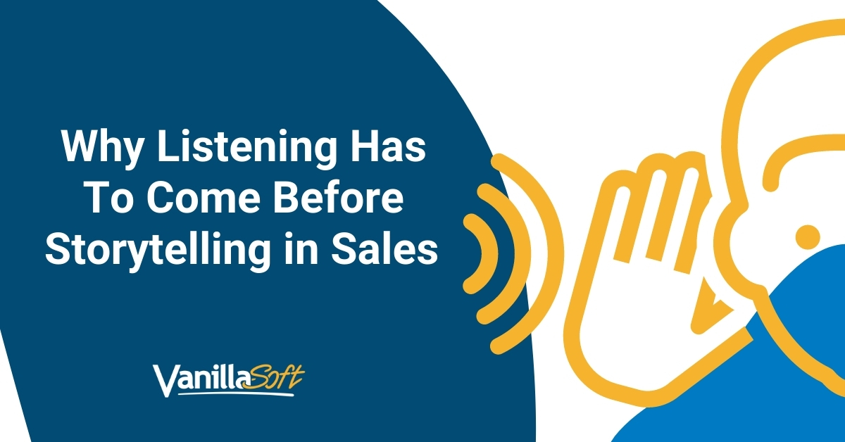 story-listening in sales