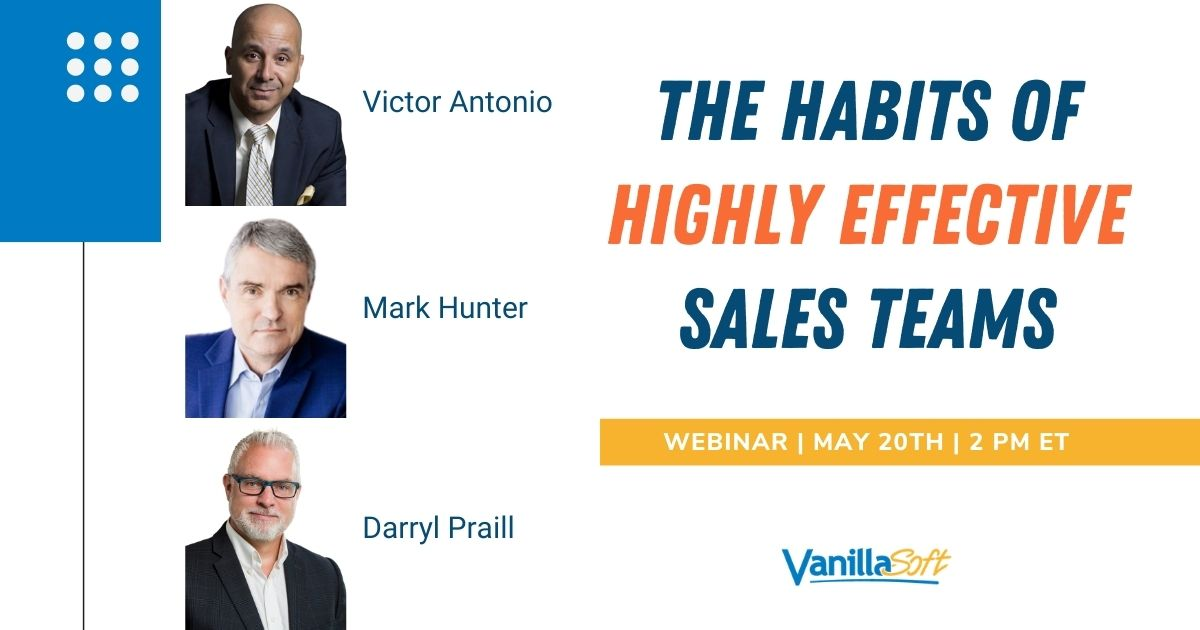 Image for [Webinar] The Habits of Highly Effective Sales Teams