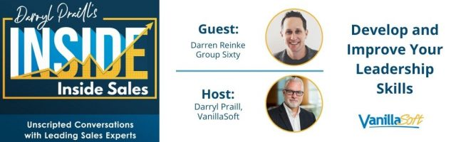 Image for INSIDE Inside Sales – Ep 139 – Develop and Improve Your Leadership Skills